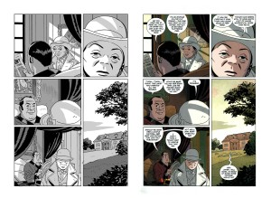 Tonci's grey guides and Dave Stewart's finished color pages