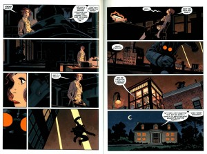 Zonjic and Stewart's elegant pages from Get the Lobster #2