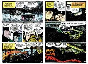 "Toth art from ""Eye of the Storm!"" Hot Wheels #4"